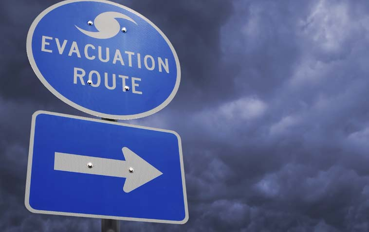 Evacuation Centers