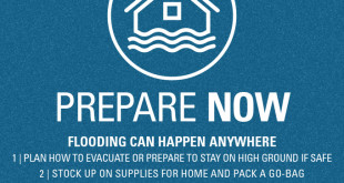 Flooding can happen anywhere. Prepare now.